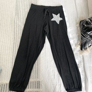 NATION LTD Cropped Star Sweatpants Size Small